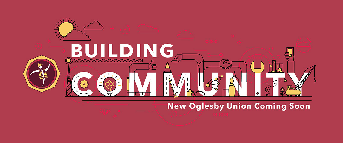 Building community New Oglesby Union Coming Soon